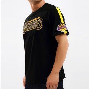 LA Lakers Pro Standard Black Embroidered Tee Shirt